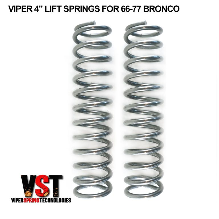 """4"""" Lift Springs for 66-77 Bronco"""