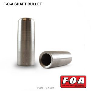 """7/8"""" shock shaft bullet to protect your seals"""