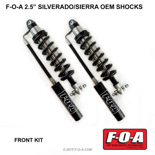 Silverado OEM coil-over shocks