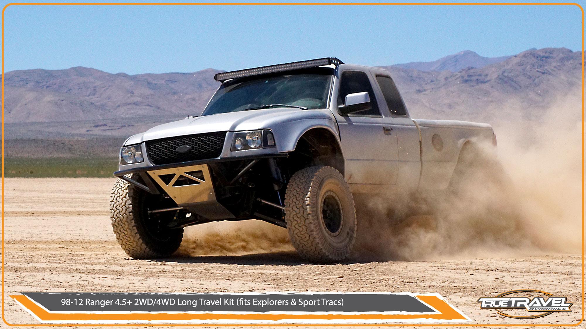 98 12 Ford Ranger 4wd 4 5 Long Travel Kit